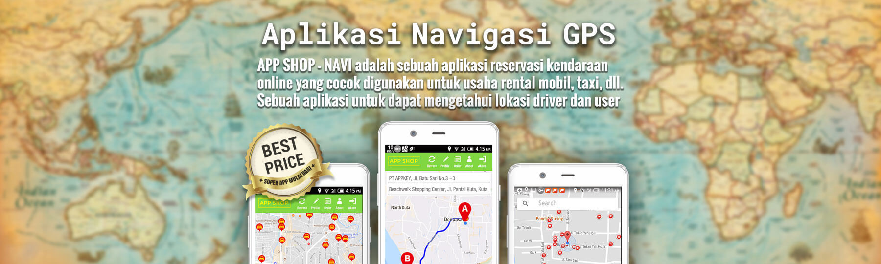 Aplikasi Navigasi GPS