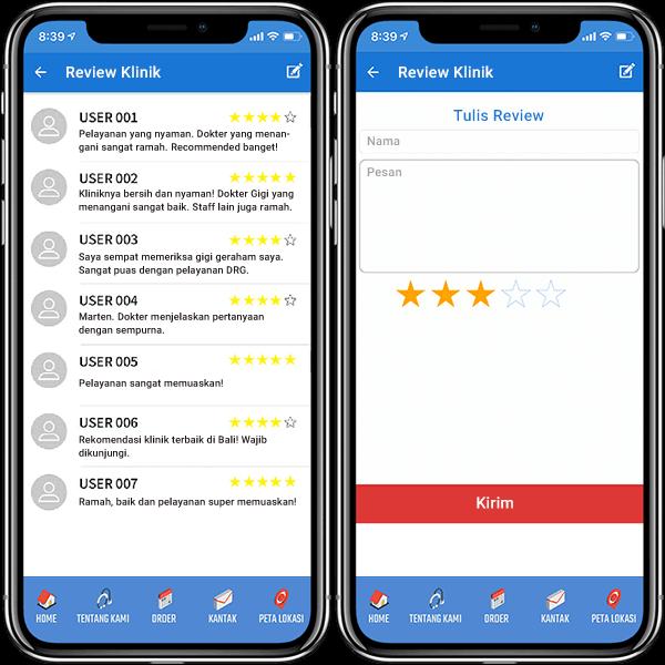 Review dari pengguna