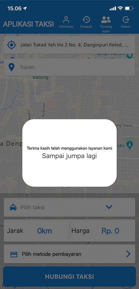 jasa pembuatan aplikasi ojek online