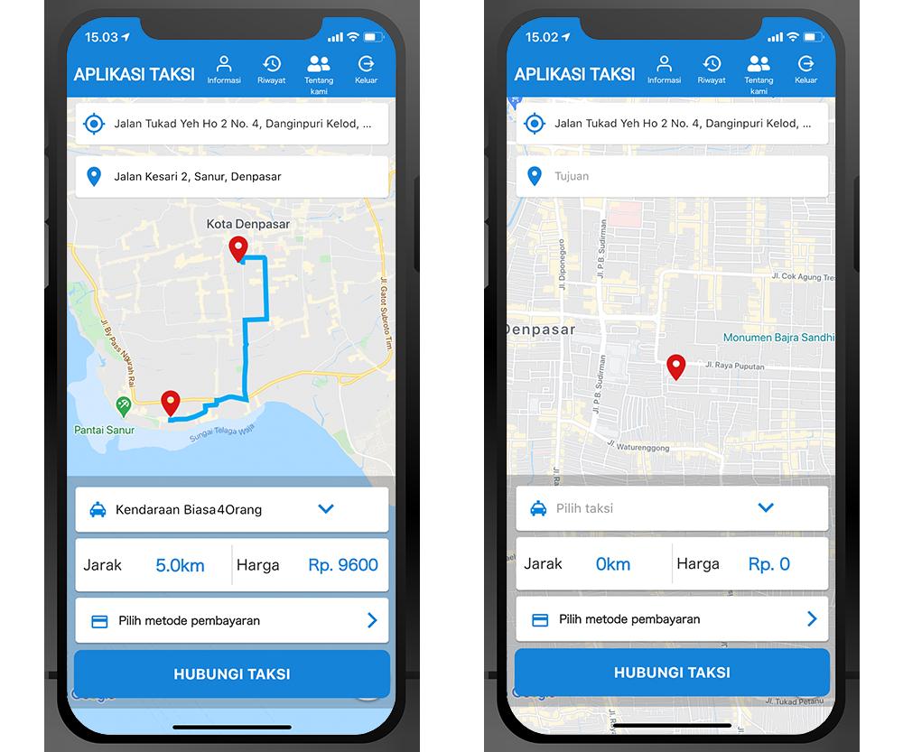 Desain Aplikasi Pengguna